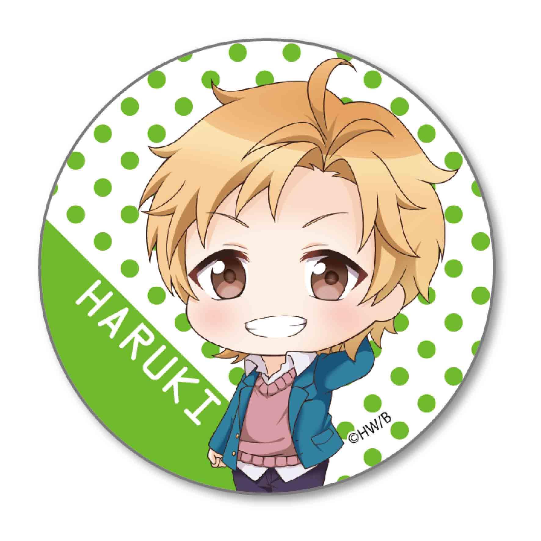 Itsu datte bokura no koi wa 10cm datta tekutoko can badge serizawa haruki