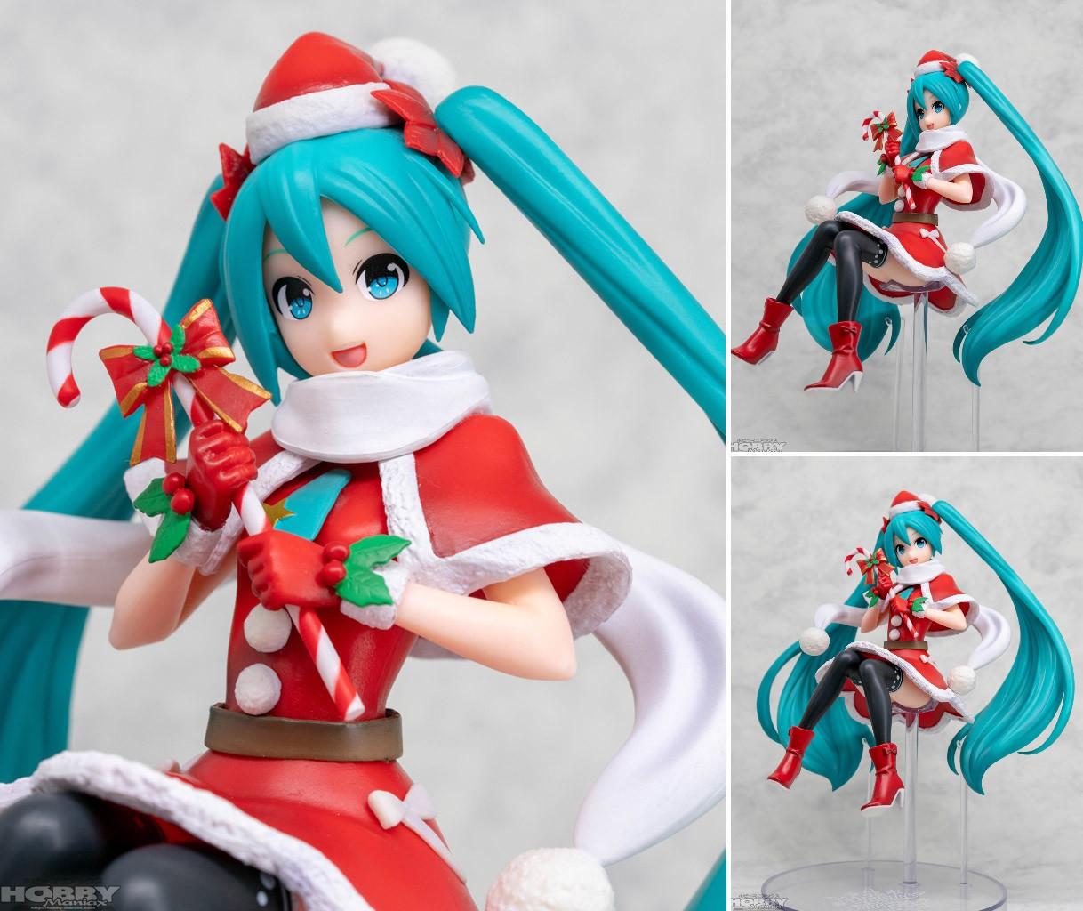 Hatsune Miku Christmas 2018.Super Premium Figure Hatsune Miku Christmas 2018 17cm