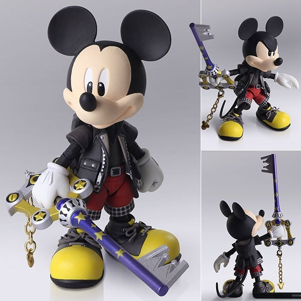 Bring Arts Figure Mickey Mouse / King Mickey