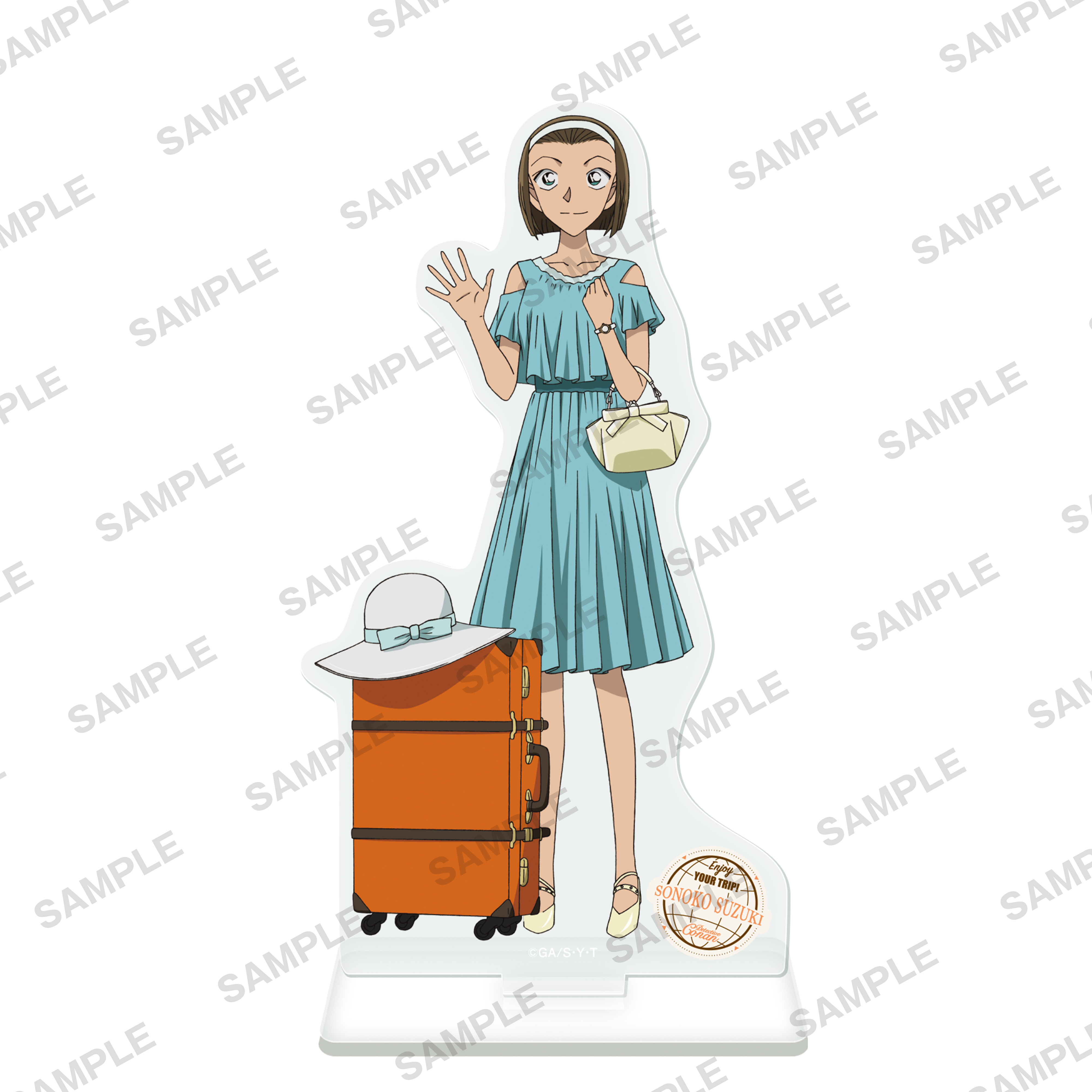 Detective Conan Acrylic Stand Figur Travel Ver. Suzuki Sonoko