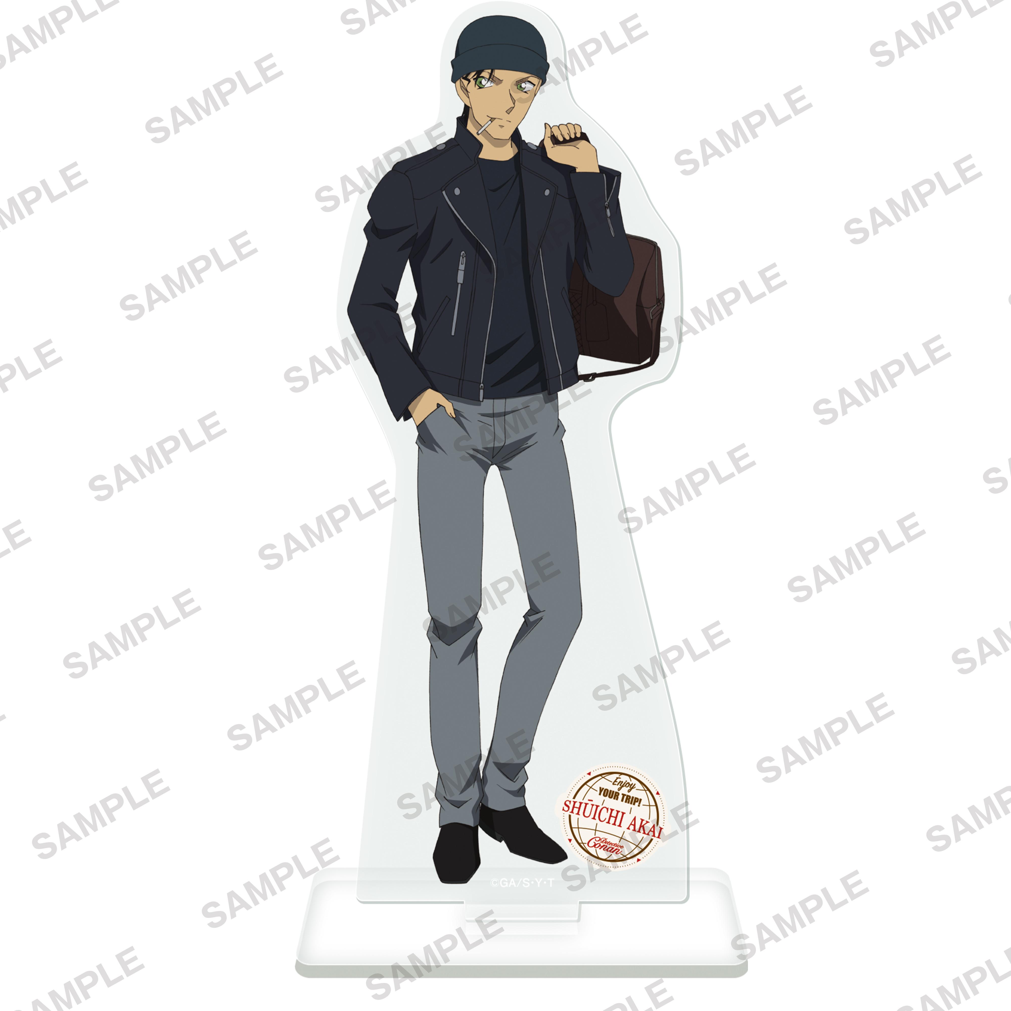 Detective Conan Acrylic Stand Figur Travel Ver. Akai Shuichi