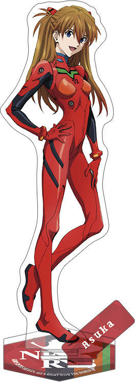 Rebuild of Evangelion New Theatrical Edition Acrylic Stand Asuka (Plug Suit 2019)