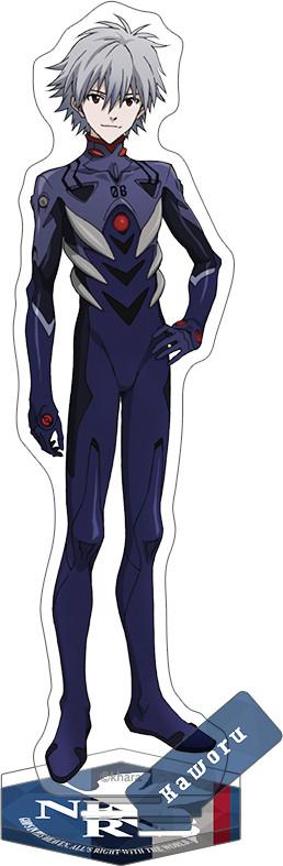 Rebuild of Evangelion New Theatrical Edition Acrylic Stand Kaworu (Plug Suit 2019)