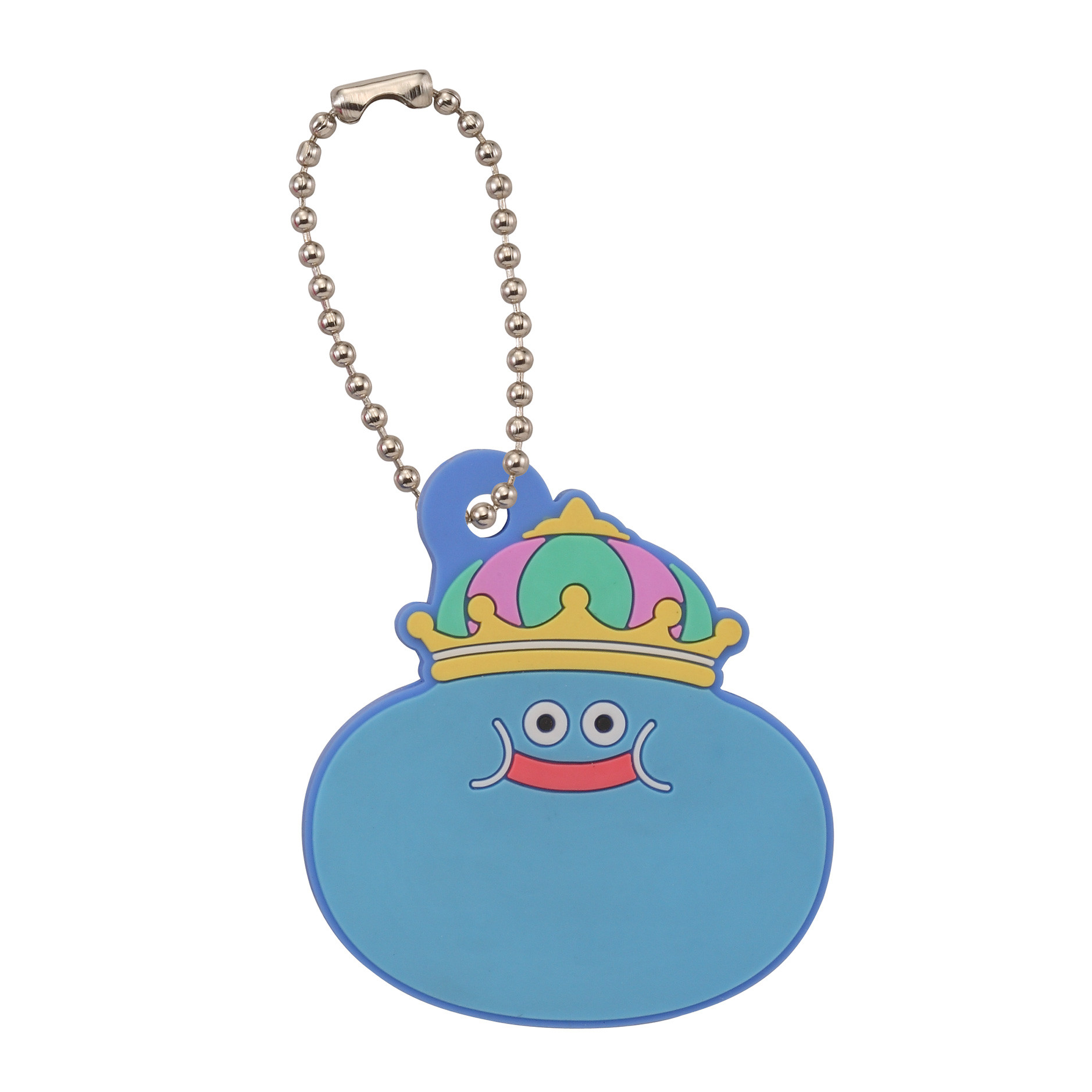 Dragon Quest Smile Slime Key Cover King Slime