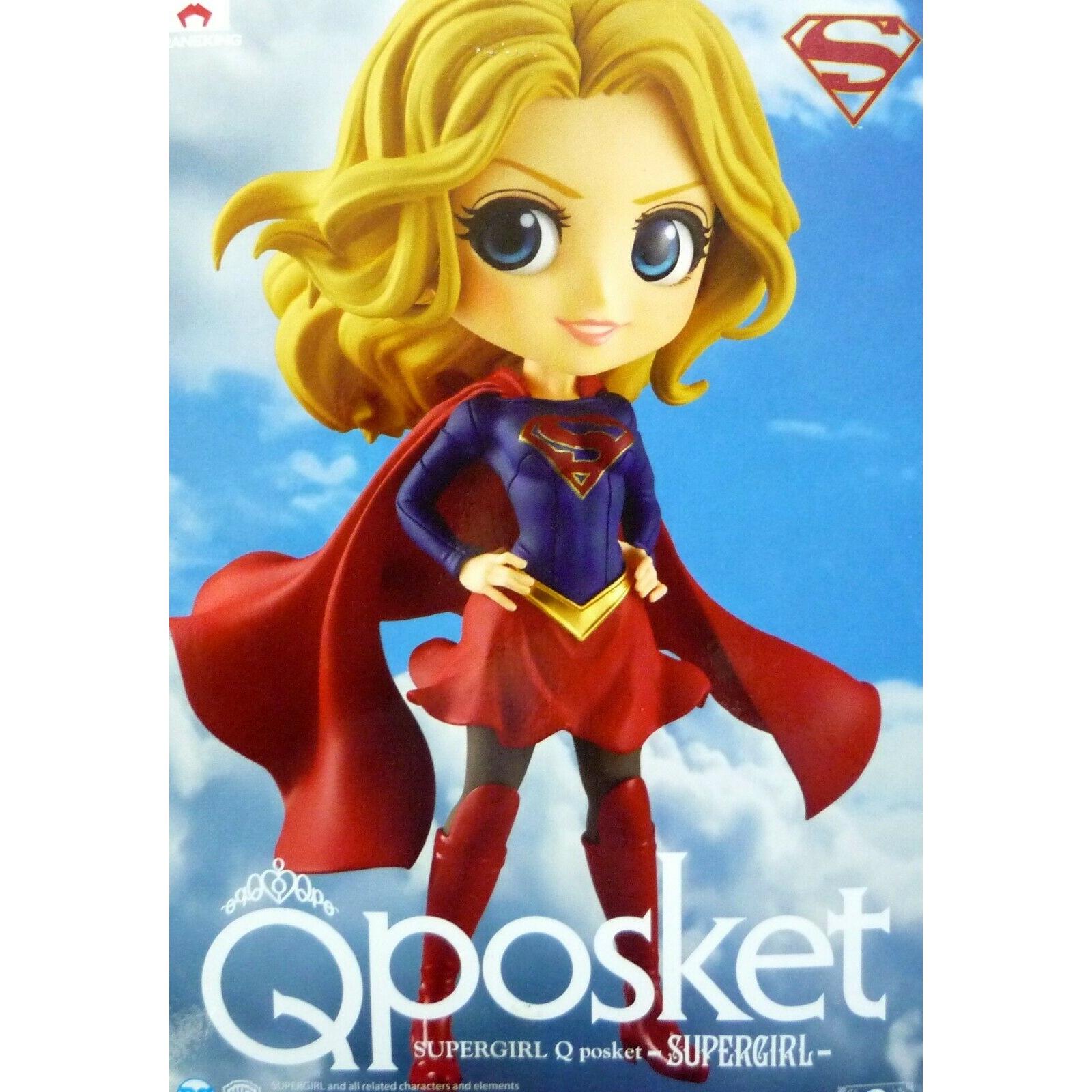 [JAPAN VER] Q Posket Figure Supergirl (14cm)