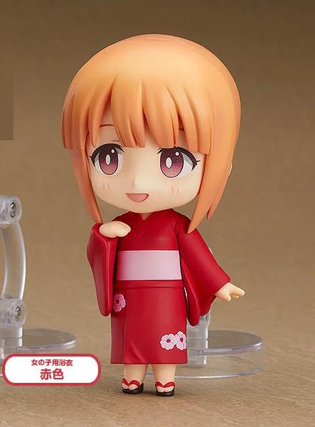 Red Female Nendoroid More Dress Up Yukata [Without Head]