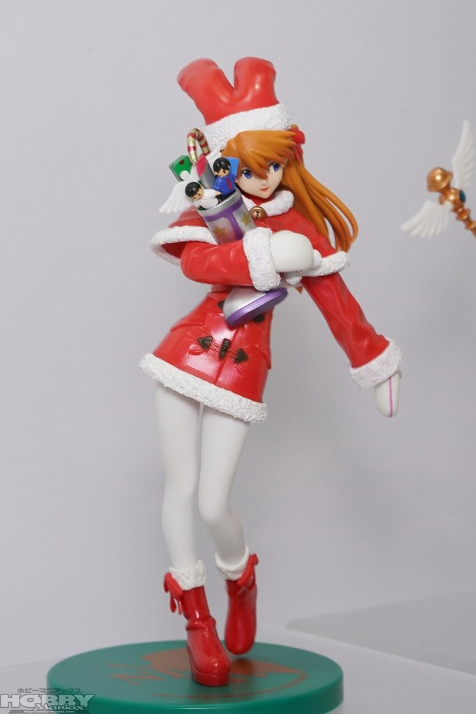 Premium Figure Souryuu Asuka Langley - Christmas Ver. 1.5 (22cm)
