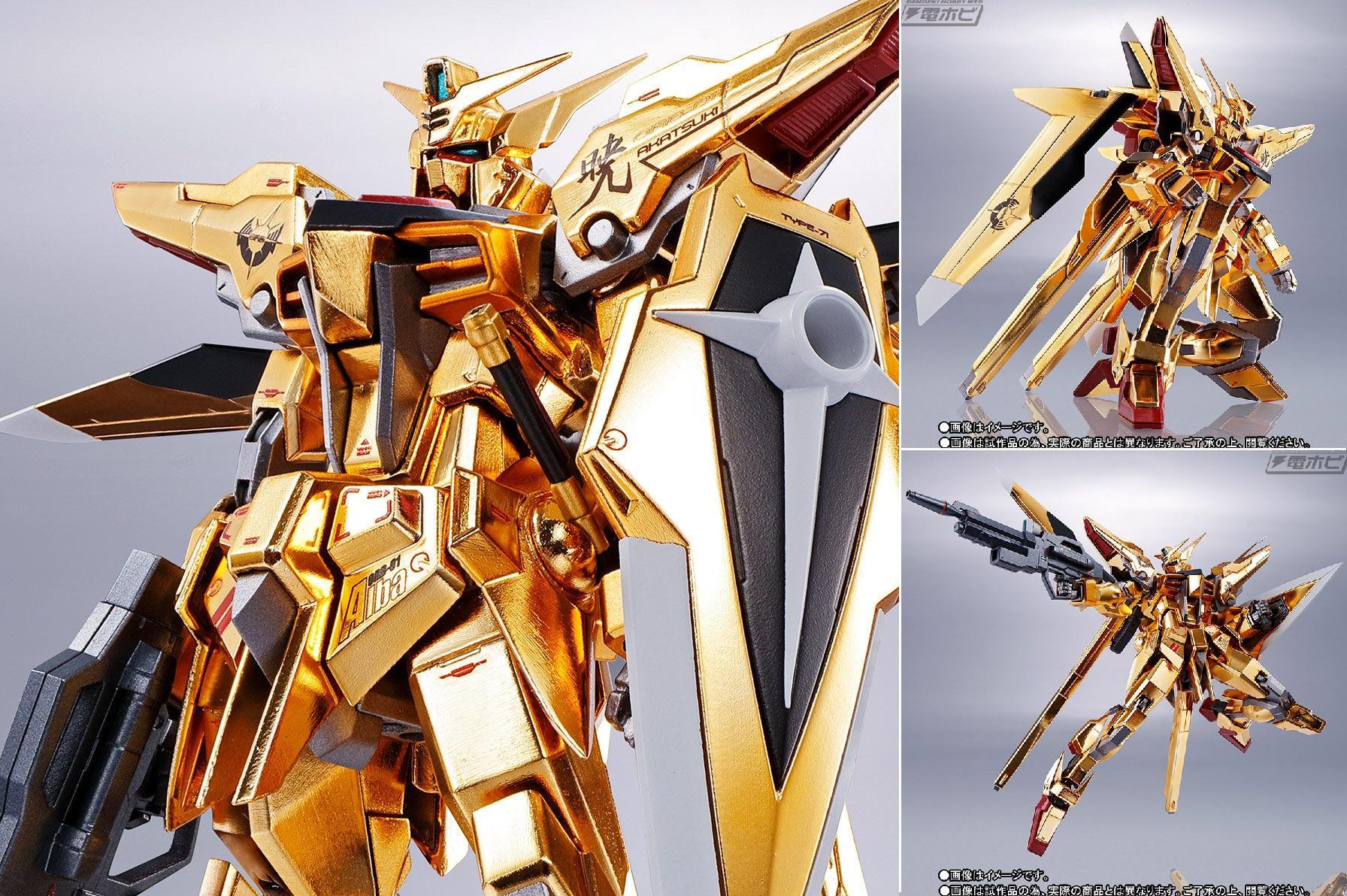 Metal Robot Spirits Akatsuki Side MS Gundam 00Washi Unit