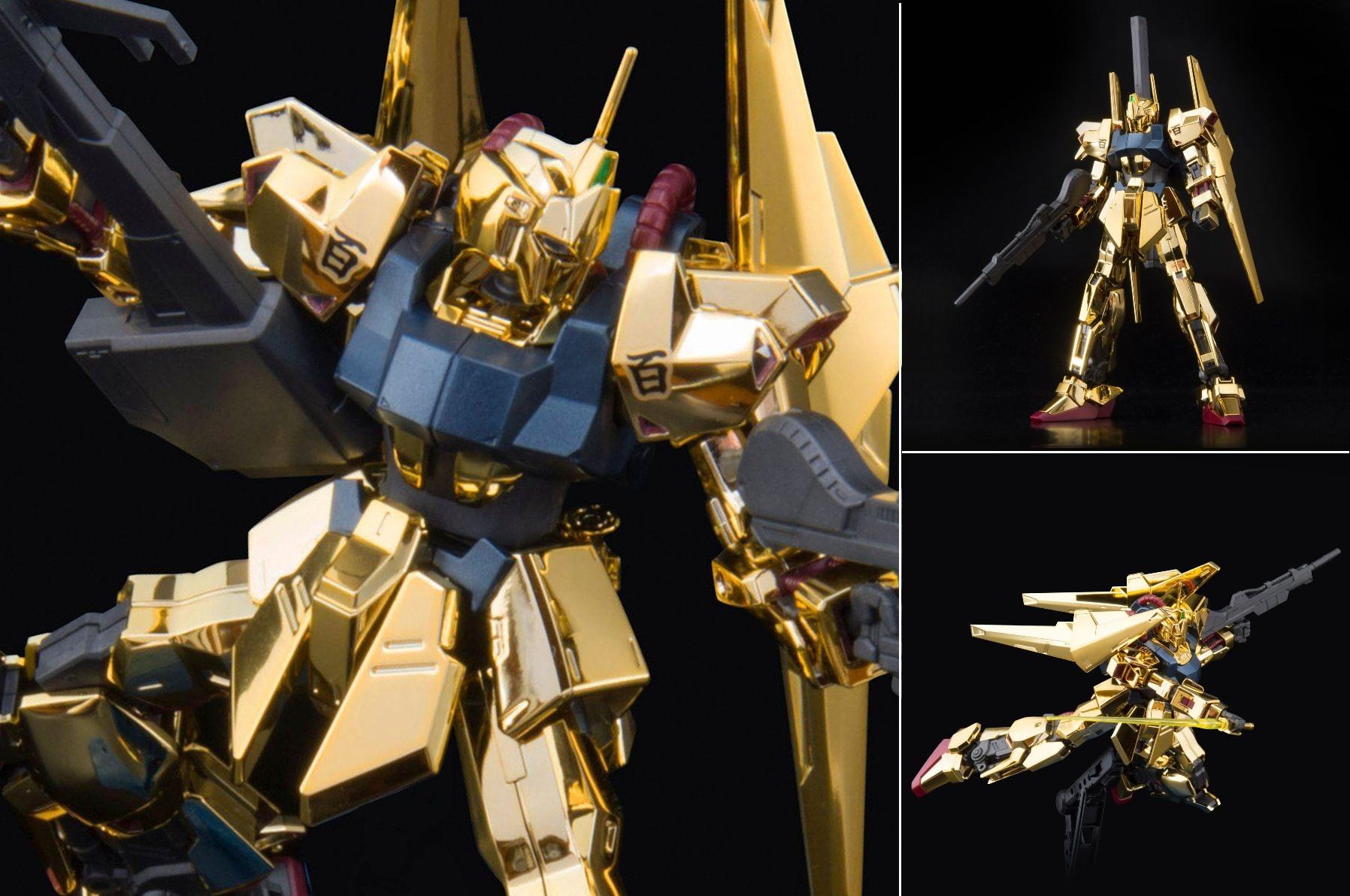 HG 1/144 Hyakku Shiki Gold Coating Ver.