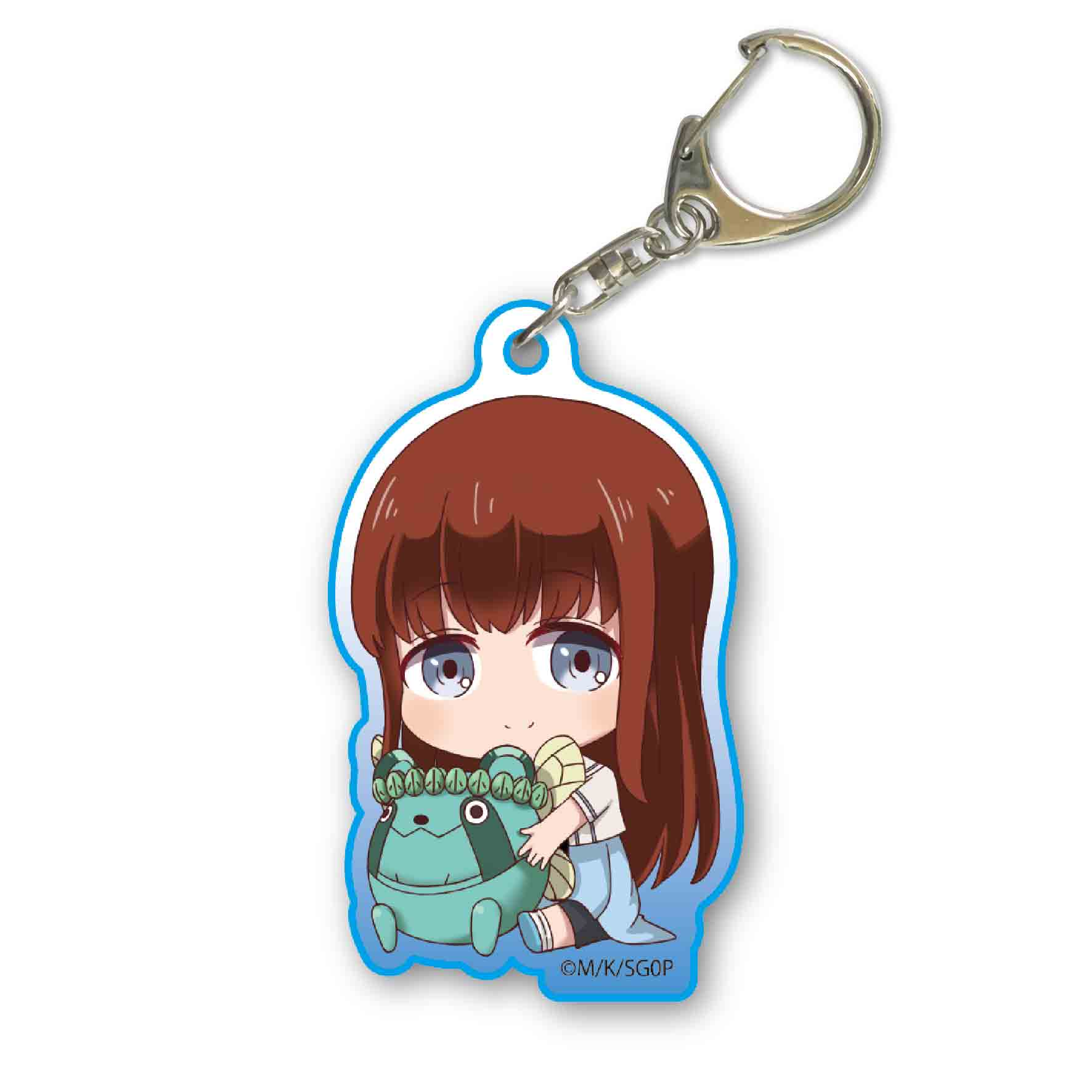 Steins Gate 0 Gyugyutto Acrylic Key Chain Shiina Kagari Kyou Hobby Shop